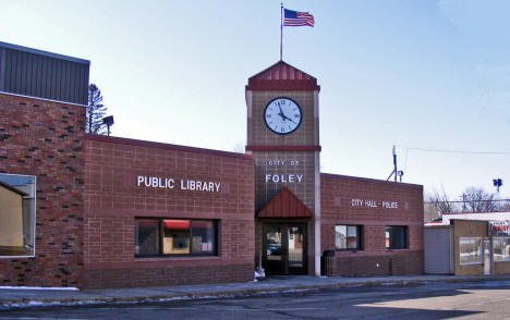 Foley Library and City Hall, Foley Minnesota, 2009