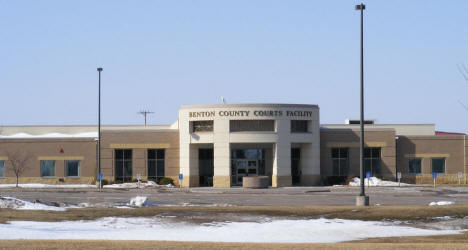 Benton County Courts Facility, Foley Minnesota, 2009