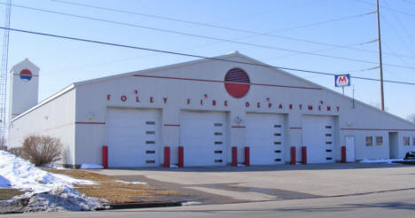 Foley Fire Department, Foley Minnesota, 2009