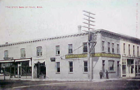 First State Bank of Foley Minnesota, 1910
