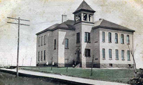 High school at Foley Minnesota, 1912