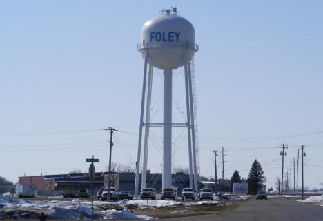 Water Tower, Foley Minnesota, 2009