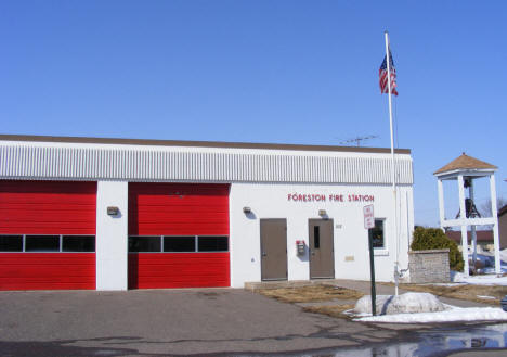 Foreston Fire Station, Foreston Minnesota, 2009
