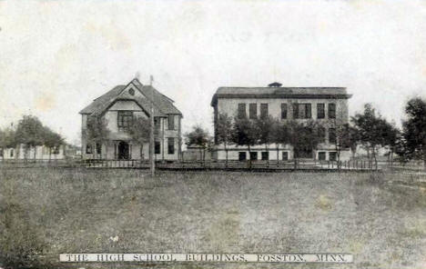 High School Buildings, Fosston Minnesota, 1911