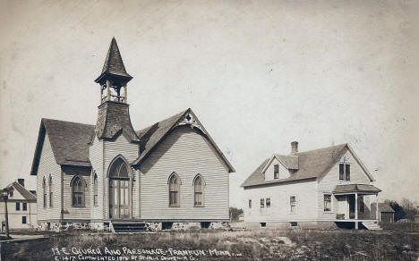 Methodist Episcopal Church, Franklin Minnesota, 1910