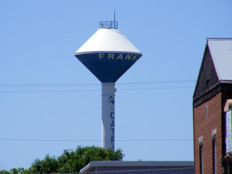 Water tower, Franklin Minnesota, 2011