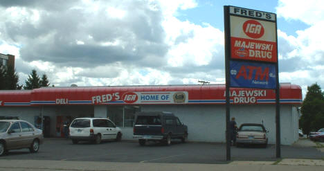 Fred's IGA and Majewski Drug, Nashwauk Minnesota