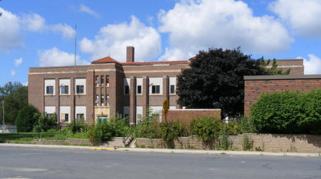 Former School, now apartments, Freeborn Minnesota, 2010