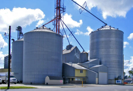 Grain elevators, Freeborn Minnesota, 2010