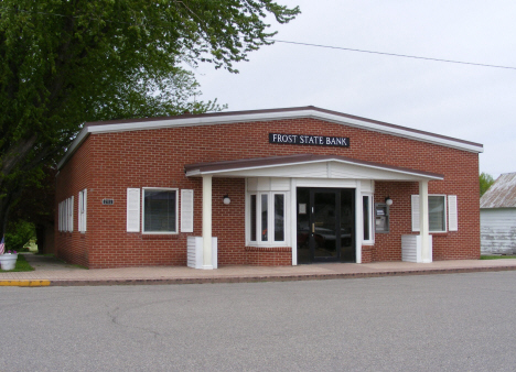 Frost State Bank, Frost Minnesota, 2014
