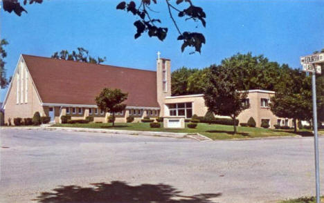First Presbyterian Church, Fulda Minnesota, 1960's