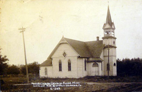 Presbyterian Church, Fulda Minnesota, 1909