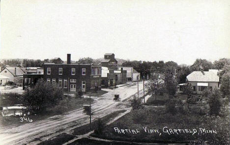 Partial view, Garfield Minnesota, 1910's?