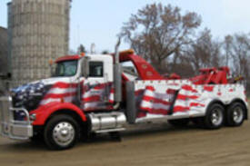 Glenn's Towing & Trucking, Garfield Minnesota