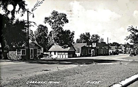 View of Garrison Minnesota, 1940's