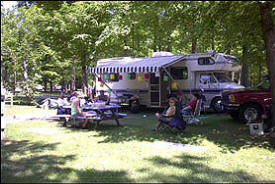Camp Holiday Campground, Garrison Minnesota