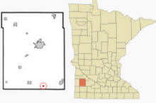 Location of Garvin, Minnesota