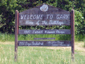 Welcome to Gary Minnesota