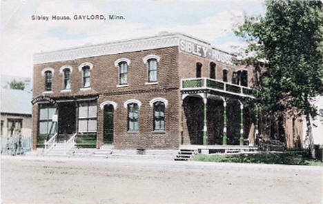 Sibley House, Gaylord Minnesota, 1909