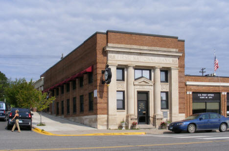 First National Bank and US Post Office, Gilbert Minnesota, 2009