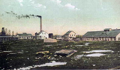 Gilbert Mine Number One, Gilbert Minnesota, 1910