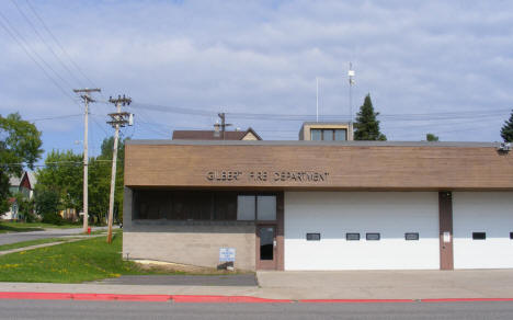 Fire Department, Gilbert Minnesota, 2009