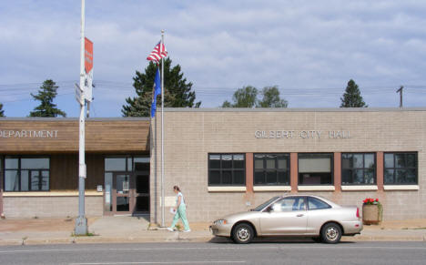 City Hall and Police Department, Gilbert Minnesota, 2009