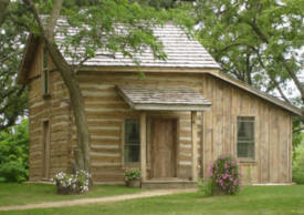 1858 Log Cabin Bed & Breakfast, Glenville Minnesota