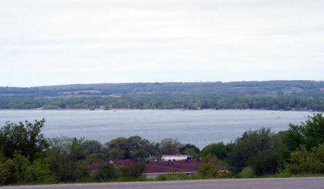 View of Lake Minnewaska, Glenwood Minnesota