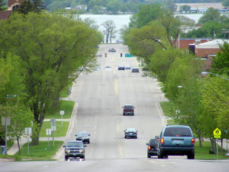 Street View, Glenwood Minnesota, 2008