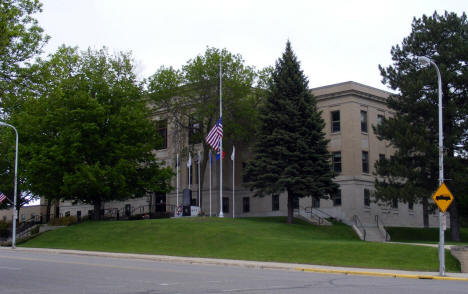 Pope County Courthouse, Glenwood Minnesota, 2008