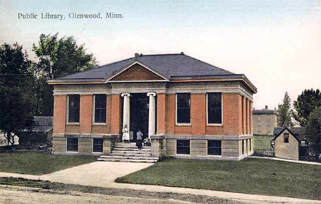 Public Library, Glenwood Minnesota, 1910