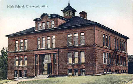 Glenwood High School, Glenwood Minnesota, 1910