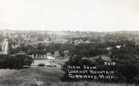 View of Glenwood from Lookout Mountain, 1932