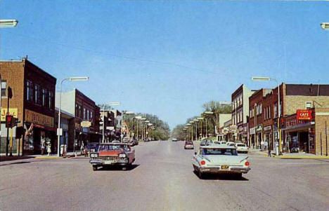 Minnesota Avenue, Glenwood Minnesota, 1960's