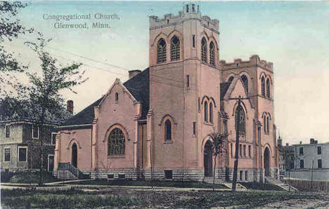 Congregational Church, Glenwood Minnesota, 1908