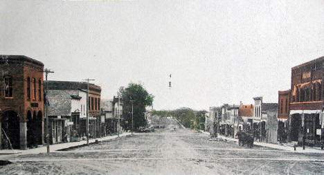 Main Street, Glenwood Minnesota, 1907