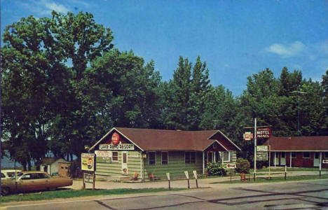 Lake Reno Resort, Glenwood Minnesota, 1960's