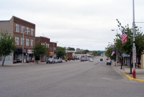 Street View, Downtown Glenwood Minnesota, 2008