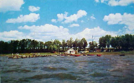 Dock Inn Resort, Glenwood Minnesota, 1960's?