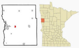 Location of Glyndon, Minnesota
