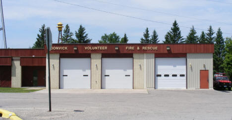 Gonvick Volunteer Fire and Rescue, Gonvick Minnesota, 2008