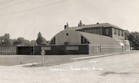 School, Gonvick Minnesota, 1950?
