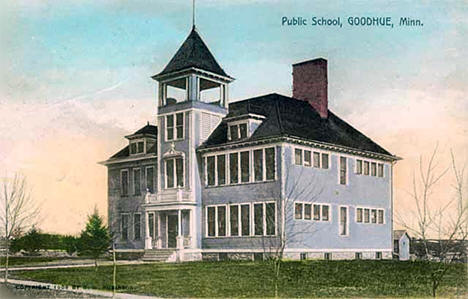 Public School, Goodhue Minnesota, 1912