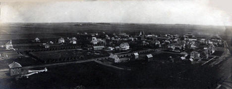 Birds eye view, Goodhue Minnesota, 1906
