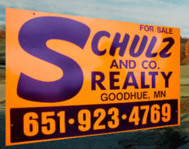 Schulz and Company Realty, Goodhue Minnesota