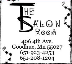 The Salon Room, Goodhue Minnesota