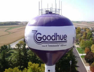 Goodhue Minnesota Water Tower