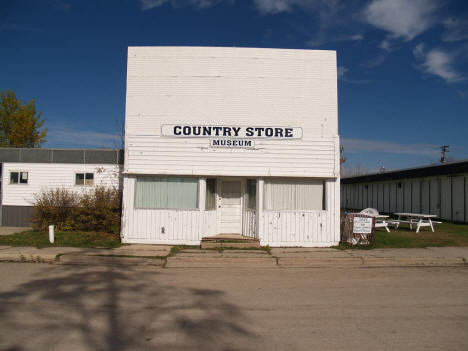 Street scene, Goodridge Minnesota, 2007