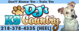 DJ's K9 Country, Goodridge Minnesota